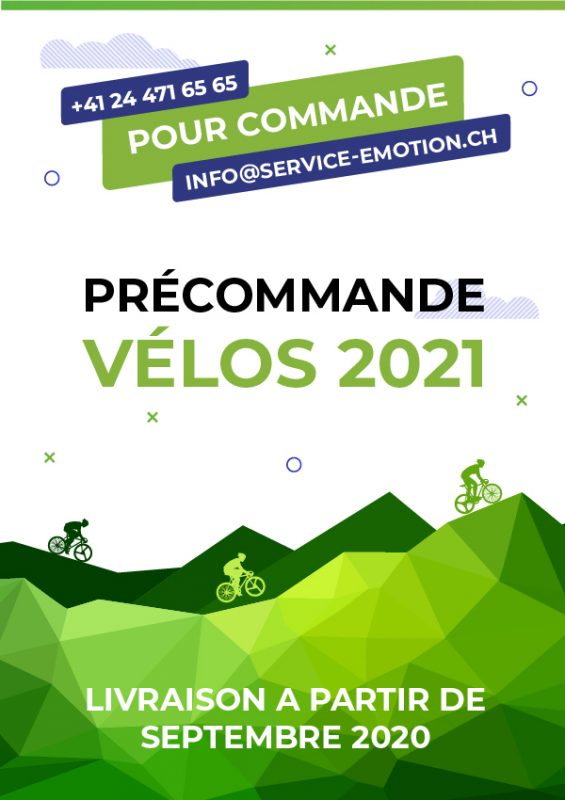 Précommande Vélos 2021