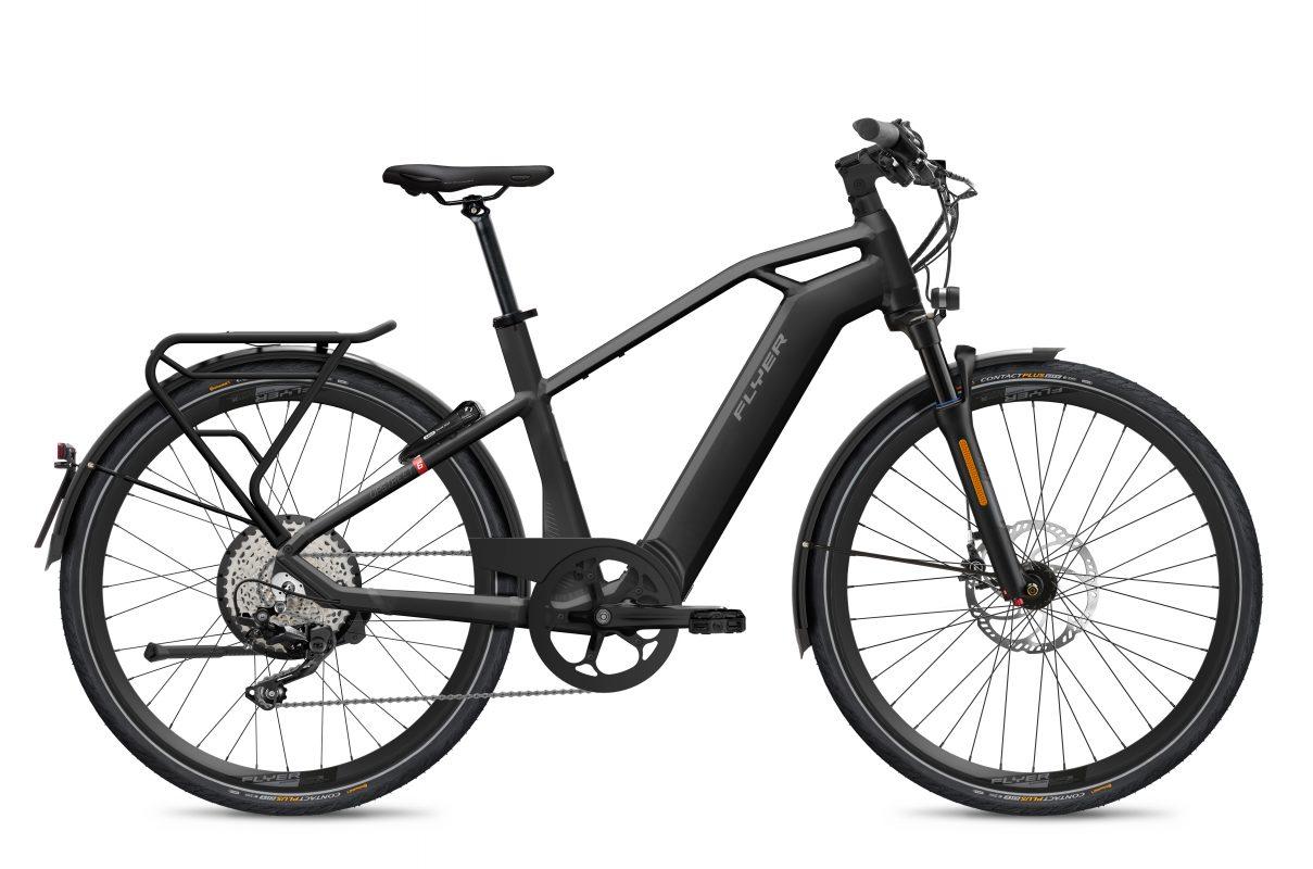 FLYER_E-Bikes_MY21_Upstreet6_710_Gents_HS_EU_BlackGloss_Federgabel